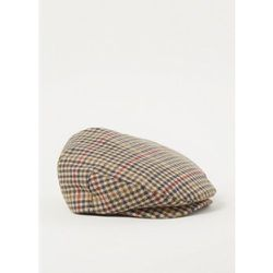 Casquette plate Hooligan Baggy en laine mélangée à carreaux - brixton - Modalova
