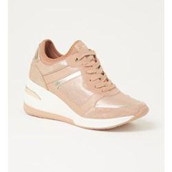 Sneaker Eilas avec détails en daim - Dune London - Modalova