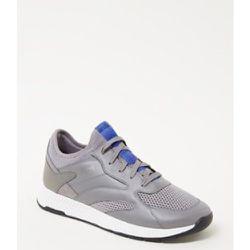 Sneaker Titanium Merf avec détails en cuir - Hugo Boss - Modalova