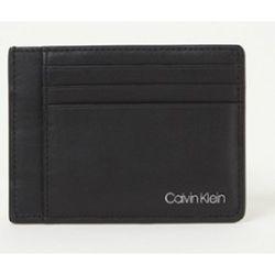 Porte-cartes en cuir avec logo - Calvin Klein - Modalova