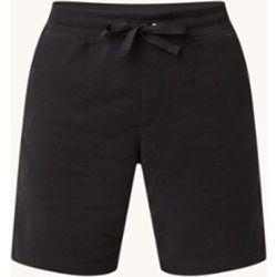 Pantalon de survêtement court coupe droite avec bordure logo - Tommy Hilfiger - Modalova