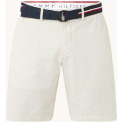 Pantalon court chino Brooklyn coupe droite en coton biologique - Tommy Hilfiger - Modalova