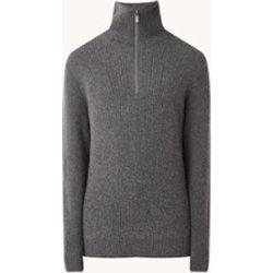Pull en grosse maille Arlan-T en laine mélangée avec demi-zip - Strellson - Modalova