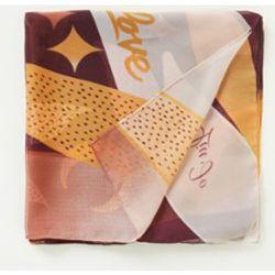 Écharpe avec impression 120 x 120 cm - Liu Jo - Modalova