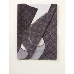 Écharpe avec imprimé logo et lurex 180x 80cm - Liu Jo - Modalova