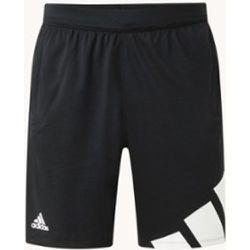 Pantalon d'entraînement court avec imprimé logo et Aeroready - Adidas - Modalova