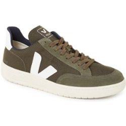 Sneaker V-12 avec détails en daim - Veja - Modalova