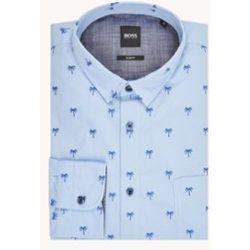 Chemise coupe slim emblématique avec broderie - Hugo Boss - Modalova