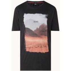T-shirt Tsummery avec imprimé sur le devant - Hugo Boss - Modalova