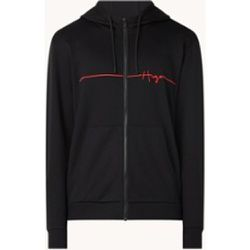 Veste sweat avec capuche et logo brodé - Hugo Boss - Modalova