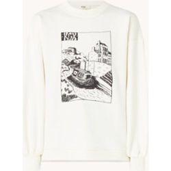 Sweat-shirt Beegeez avec imprimé sur le devant et détail zippé - Ted Baker - Modalova