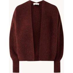 Cardigan à grosse maille en laine d'alpaga mélangée - American vintage - Modalova