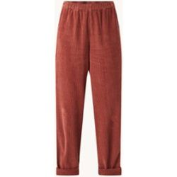 Pantalon court taille haute coupe droite en Corduroy Splash - American vintage - Modalova