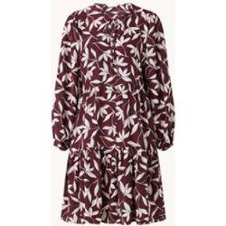 Robe tunique midi Decento en soie mélangée avec imprimé - Hugo Boss - Modalova