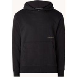 Sweat à capuche avec bordure logo - Calvin Klein - Modalova