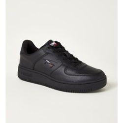 Sneaker avec détails en cuir et logo - Tommy Hilfiger - Modalova
