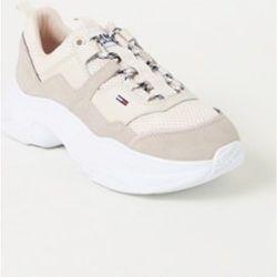 Sneaker avec détails en daim - Tommy Hilfiger - Modalova