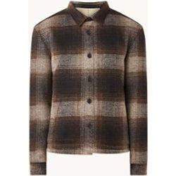 Veste Gaston en laine mélangée à carreaux - drykorn - Modalova