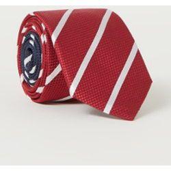 Cravate en soie mélangée à rayures - Tommy Hilfiger - Modalova
