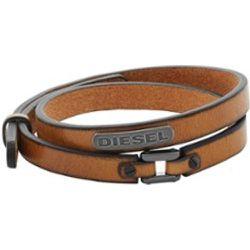 Diesel Bracelet en cuir - Diesel - Modalova