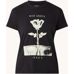 T-shirt Rise Above Rose avec imprimé - Obey - Modalova