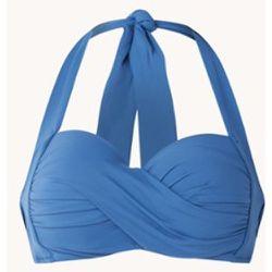 Haut de bikini licou rembourré Twist avec push-up amovible - Seafolly - Modalova
