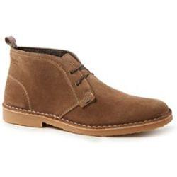 Chaussure à lacets Castle en daim - Dune London - Modalova