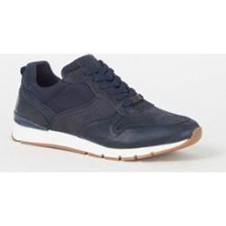 Sneaker Toils avec détails en daim - Dune London - Modalova