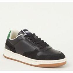 Sneaker ZV1747 en cuir avec détails en daim - Dune London - Modalova