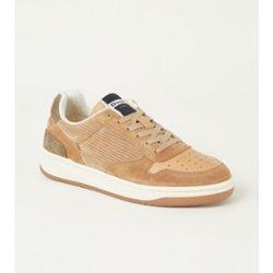 Sneaker Tropez X avec détails en daim - Dune London - Modalova