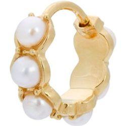 Boucle d'oreille unique La Perle avec perle - Anna + Nina - Modalova