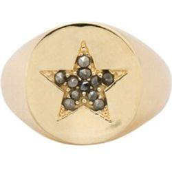 Chevalière Star Sheriffs plaqué - Anna + Nina - Modalova