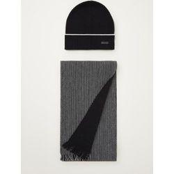 Ensemble bonnet et écharpe Diamante dans une boîte cadeau - Hugo Boss - Modalova
