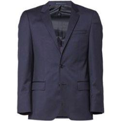 Veste coupe slim Hayes_cyl en laine vierge avec coutures AMF - Hugo Boss - Modalova