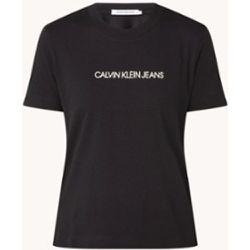 T-shirt à imprimé floqué - Calvin Klein - Modalova