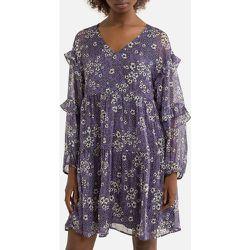 Robe droite courte, imprimé floral - IKKS - Modalova