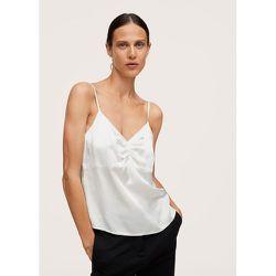 Top style lingerie satiné - Mango - Modalova