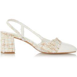 Chaussures à talons carrés mi-haut et bride arrière - CROFT - DUNE LONDON - Modalova