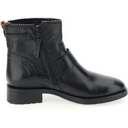 Boots cuir à boucles - MJUS - Modalova