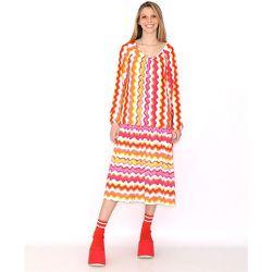 Robe à ondulations colorées - AGATHA RUIZ DE LA PRADA - Modalova