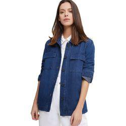 Veste saharienne en jeans - BURTON OF LONDON - Modalova