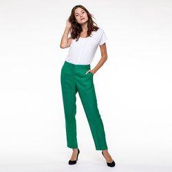 Pantalon en viscose lin - CHEMINS BLANCS - Modalova