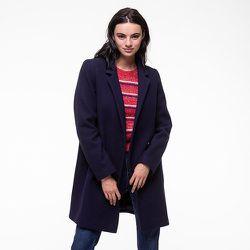 Manteau en drap de laine vierge épuré VESOUL - TRENCH AND COAT - Modalova