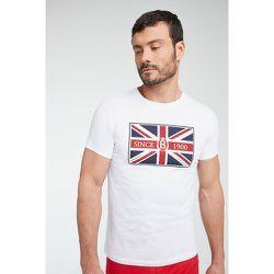Tee-shirt union jack en coton - BURTON OF LONDON - Modalova