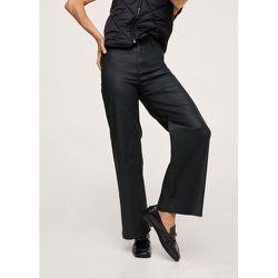 Jean style jupe-culotte taille haute enduit - Mango - Modalova