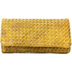 Portefeuille porte-monnaie en cuir tressé GOBI - OH MY BAG - Modalova