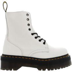 Boots cuir plateforme JADON WHITE POLISHED SMOOTH - Dr Martens - Modalova