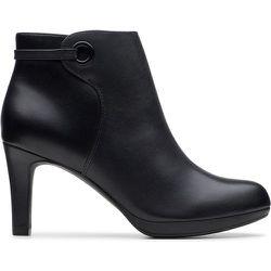 Boots cuir à talon aiguille Adriel Mae - Clarks - Modalova