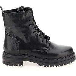 Boots cuir à lacets - MJUS - Modalova
