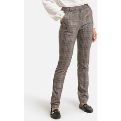 Pantalon fuselé imprimé à carreaux - Anne weyburn - Modalova